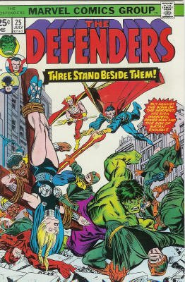 Defenders # 25 Issues (The Defenders) (1972 - 1986)