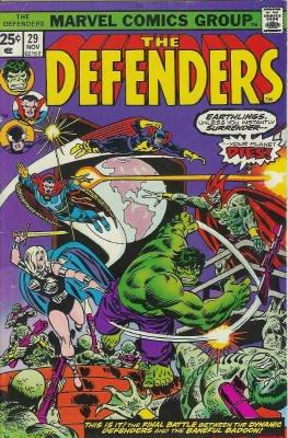 Defenders # 29 Issues (The Defenders) (1972 - 1986)