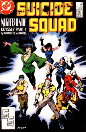 Suicide Squad 14 - Nightshade Odyssey, Part One: Slipping Into Darkness