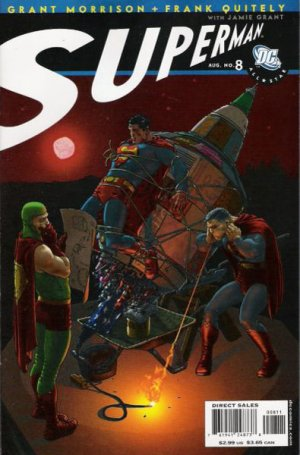 All-Star Superman # 8 Issues (2006 - 2008)