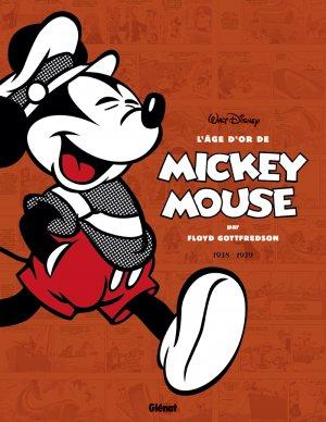 couverture, jaquette L'Âge d'Or de Mickey Mouse 2  - 1938 / 1939 - Mickey et les chasseurs de baleine et autres histoiresTPB softcover (souple) (glénat bd) Comics