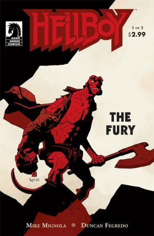 Hellboy - The Fury # 1 Issues (2011)