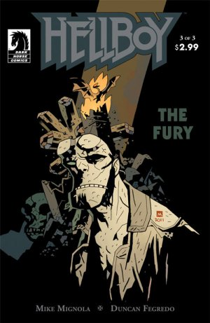 Hellboy - The Fury # 3 Issues (2011)