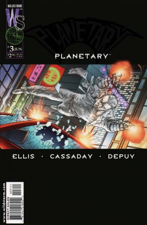 Planetary # 3 Issues (1999 - 2009)