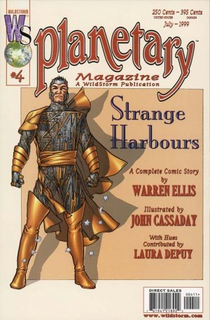 Planetary # 4 Issues (1999 - 2009)