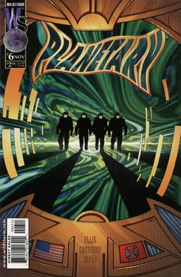 Planetary # 6 Issues (1999 - 2009)
