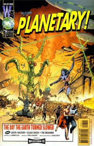 Planetary # 8 Issues (1999 - 2009)