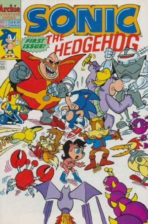 Sonic The Hedgehog édition Issues V1 (1993 - 2017)