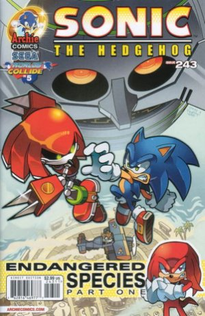 Sonic The Hedgehog # 243 Issues V1 (1993 - 2017)