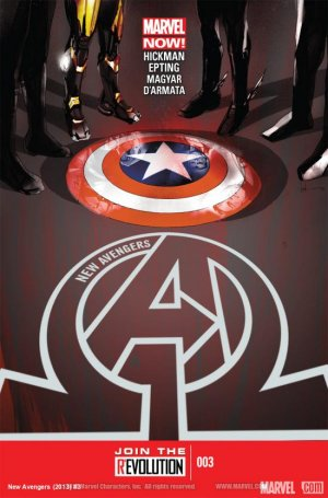 New Avengers # 3 Issues V3 (2012 - 2015)
