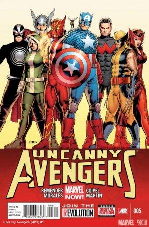 Uncanny Avengers # 5 Issues V1 (2012 - 2014)