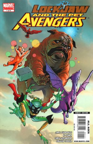 Lockjaw and the Pet Avengers # 1 Issues