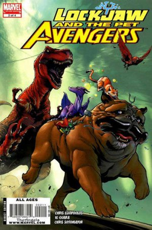 Lockjaw and the Pet Avengers # 2 Issues