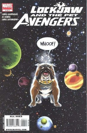 Lockjaw and the Pet Avengers # 4 Issues
