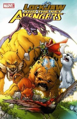 Lockjaw and the Pet Avengers édition TPB softcover (souple)