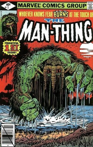 Man-Thing édition Issues V2 (1979 - 1981)