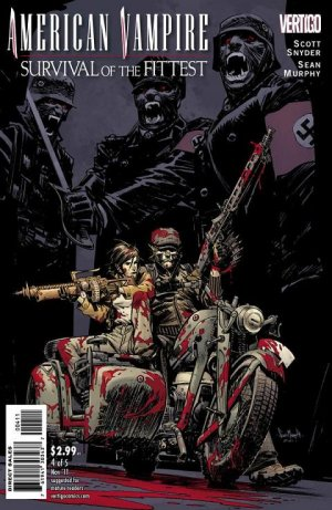 American Vampire - Survival of the Fittest # 4 Issues