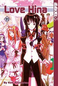couverture, jaquette Love Hina 11 USA (Tokyopop) Manga