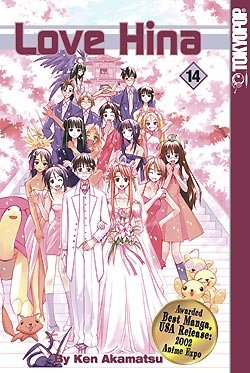 couverture, jaquette Love Hina 14 USA (Tokyopop)