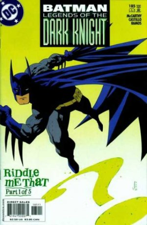 Batman - Legends of the Dark Knight 185 - Riddle Me That, Part One
