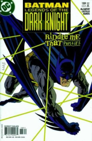 Batman - Legends of the Dark Knight # 188
