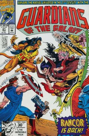 Les Gardiens de la Galaxie # 21 Issues V1 (1990 - 1995)