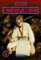 couverture, jaquette L'Habitant de l'Infini 6  (casterman manga)