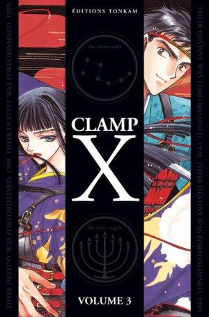couverture, jaquette X 3 DOUBLE (Tonkam) Manga