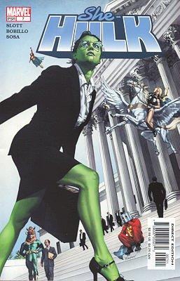 Miss Hulk # 7 Issues V1 (2004 - 2005)