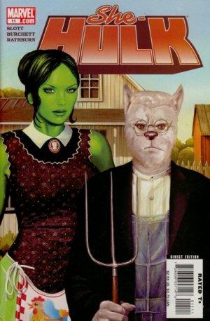 Miss Hulk # 11 Issues V2 (2005 - 2009)