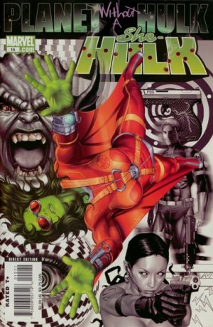 Miss Hulk 15 - Planet Without a Hulk, Part 1: Agent Of S.H.I.E.L.D.