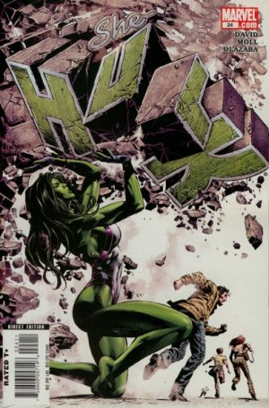 Miss Hulk # 24 Issues V2 (2005 - 2009)