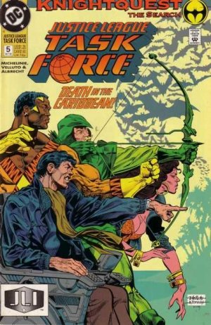 Justice League Task Force # 5 Issues V1 (1993 - 1996)