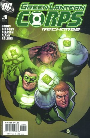 Green Lantern Corps - Recharge édition Issues