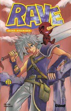 couverture, jaquette Rave 18  (Glénat Manga)