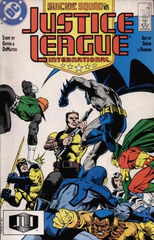 Justice League International # 13 Issues V1 (1987 - 1989)
