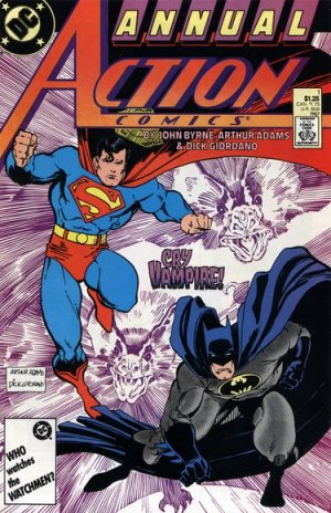 Action Comics # 1 Issues V1 - Annuals (1987 - 2011)