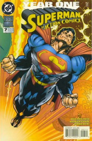 Action Comics 7 - 1995 : Loss and Space!
