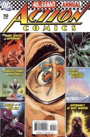 Action Comics # 10 Issues V1 - Annuals (1987 - 2011)