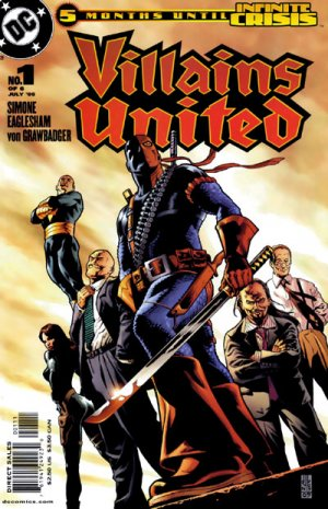 Villains United édition Issues