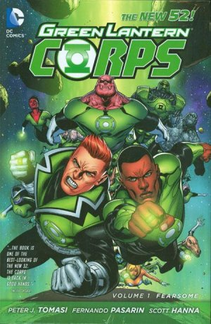 Green Lantern Corps édition TPB hardcover (cartonnée) - Issues V3