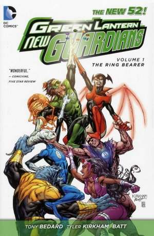 Green Lantern - New Guardians édition TPB hardcover (cartonnée) - Issues V1