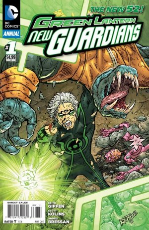 Green Lantern - New Guardians édition Issues V1 - Annuals (2013 - Ongoing)