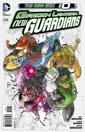 Green Lantern - New Guardians
