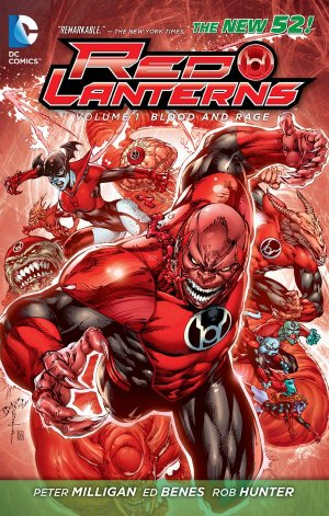 Red Lanterns édition TPB softcover (souple)