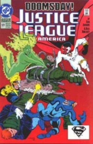 Justice League Of America # 69 Issues V2 (1989 - 1996)