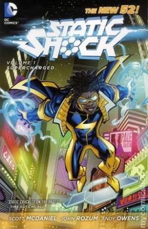 Static Shock édition TPB softcover (souple) Issues V1