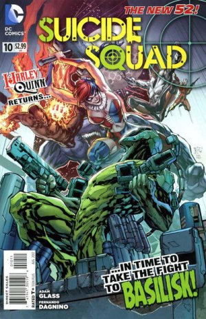 Suicide Squad # 10 Issues V4 (2011 - 2014)