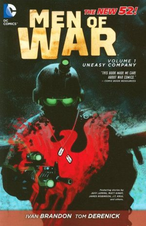 Men of War 1 - Uneasy Company (The New 52)