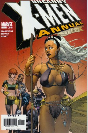 Uncanny X-Men édition Issues V2 - Annuals (2006 - 2011)